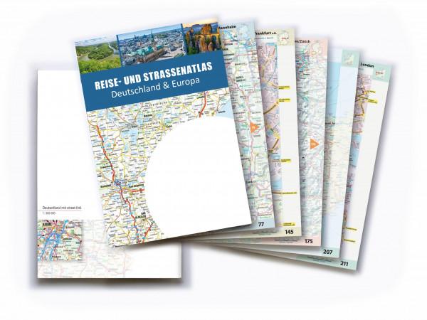 Straßenatlas Deutschland & Europa