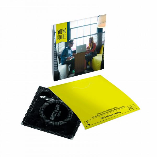 Kondome im Umschlag