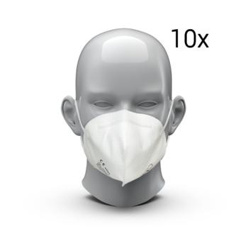 10er Pack FFP 2 Maske MADE IN GERMANY