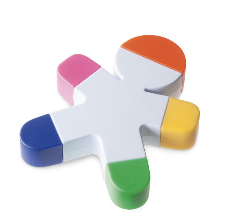 marker-mehrfarbig