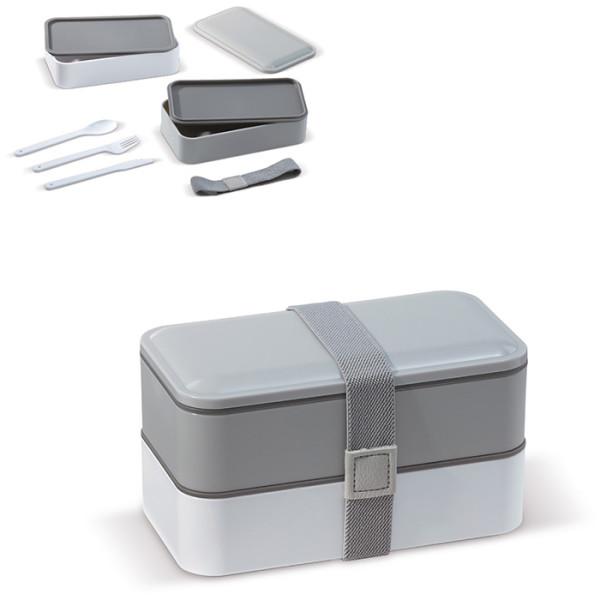 Bento box mit Besteck 1250ml