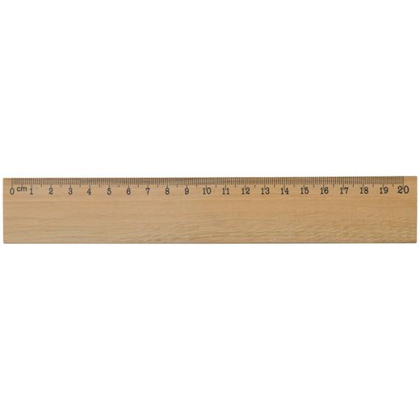 Holzlineal 20cm